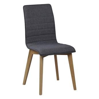 Krzesło Gracy 48x89 cm ciemnoszare-naturalne