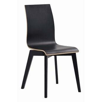 Krzesło Gracy 48x89 cm czarne