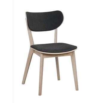 Krzesło Kato 46x83 cm bielone-ciemnoszare