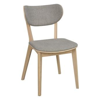 Krzesło Kato 46x83 cm bielone-jasnoszare