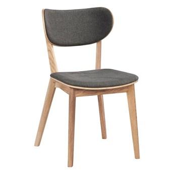 Krzesło Kato 46x83 cm naturalne-ciemnoszare