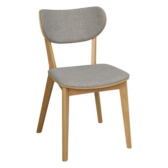 Krzesło Kato 46x83 cm naturalne-jasnoszare