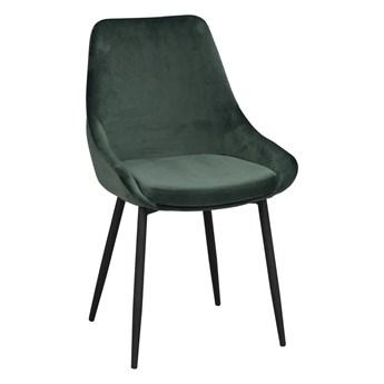 Krzesło Sierra 49x85 cm zielone aksamit