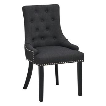 Krzesło Vicky 52x91 cm antracytowe-czarne