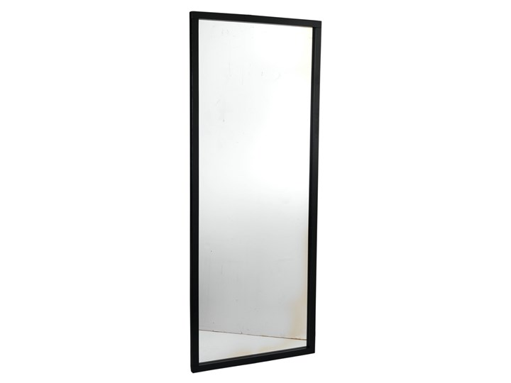 Lustro wiszące Confetti 150x60 cm czarne Kolor Czarny Kategoria Lustra