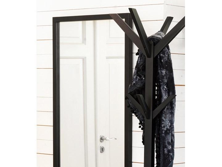 Lustro wiszące Confetti 150x60 cm czarne Kolor Czarny
