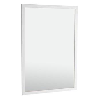 Lustro wiszące Confetti 90x60 cm białe
