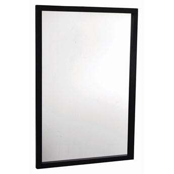 Lustro wiszące Confetti 90x60 cm czarne
