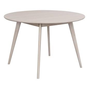 Stół Yumi ∅115 cm bielony