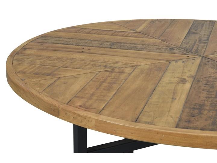 Stół Zanzibar ∅120 cm naturalny Rozkładanie
