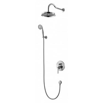 Zestaw prysznicowy Armance z deszczownicą chrom SYSAM10CR