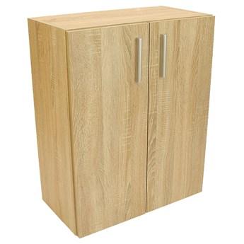 Zamykana szafka klasyczna dąb sonoma - Linra 2X