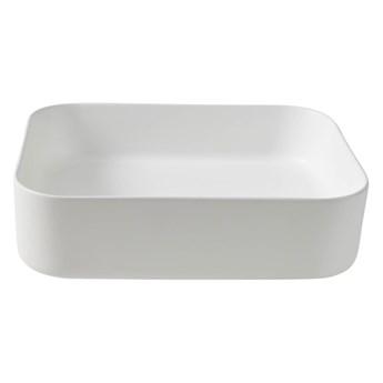 Umywalka nablatowa GoodHome Tekapo 45 x 35 x 12 cm biała