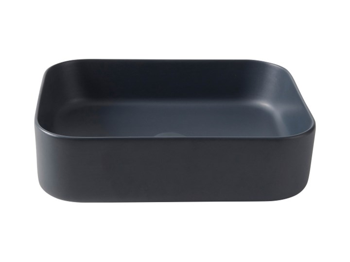 Umywalka nablatowa GoodHome Tekapo 45 x 35 x 12 cm szara Narożne Prostokątne Podwieszane Nablatowe Szerokość 45 cm Kategoria Umywalki