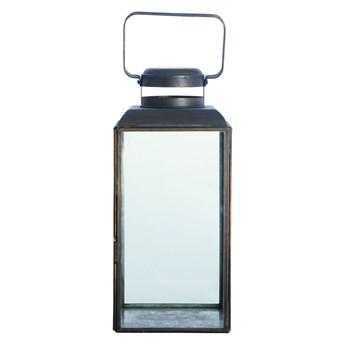 LAMPION VINTAGE ANTIQUE BLACK HOUSE DOCTOR wys. 30 cm