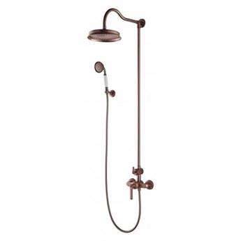 Zestaw prysznicowy Armance miedź antyczna AM5244ORB