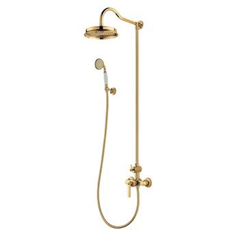 Armance zestaw prysznicowy ścienny złoty AM5244GL