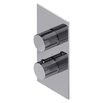 Contour termostatyczna bateria prysznicowo-wannowa podtynkowa chrom CT8036CR