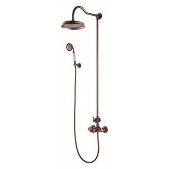 Zestaw prysznicowy Armance termostatyczny miedź antyczna AM5244/6ORB