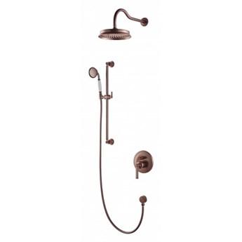 Zestaw prysznicowy Armance podtynkowy miedź antyczna SYSAM20ORB