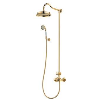 Armance zestaw prysznicowy ścienny termostatyczny złoty AM5244/6GL