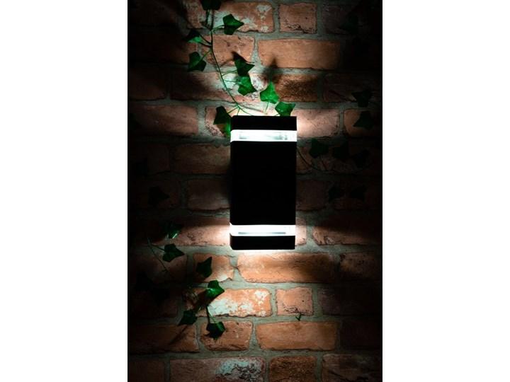 Oprawa elewacyjna kinkiet PANAM Black IP44 2xGU10 czarny EDO777155 Garden Line EDO Kinkiet ogrodowy Kategoria Lampy ogrodowe