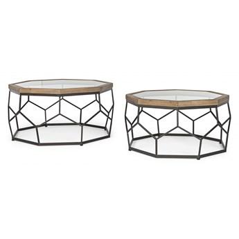 Smith Hexag zestaw dwóch stolików