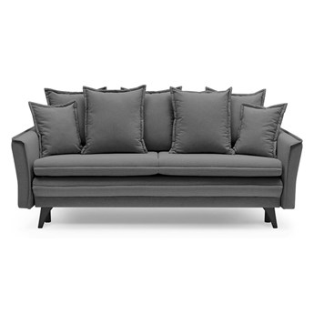 Ciemnoszara sofa rozkładana Bobochic Paris Seychelles