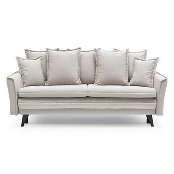 Beżowa sofa rozkładana Bobochic Paris Seychelles