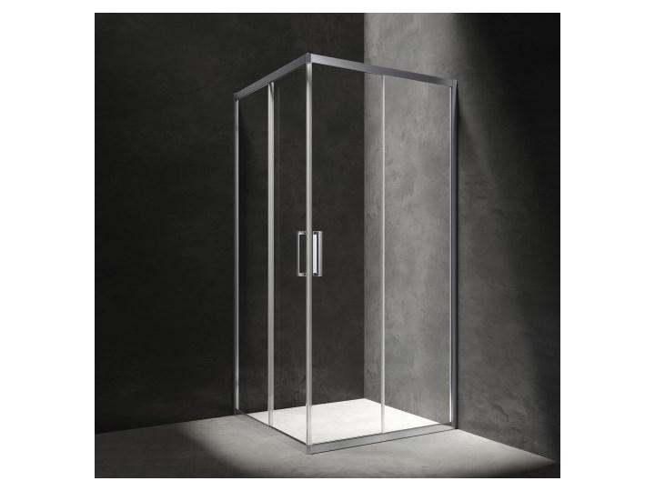 Kabina prysznicowa Chelsea, szklana, przesuwana, 90x90, szkło przezroczyste z powłoką 3M, NDC90XCRTR