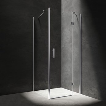 Kabina kwadratowa Manhattan, 90 cm, szkło przezroczyste, MH9090CRTR