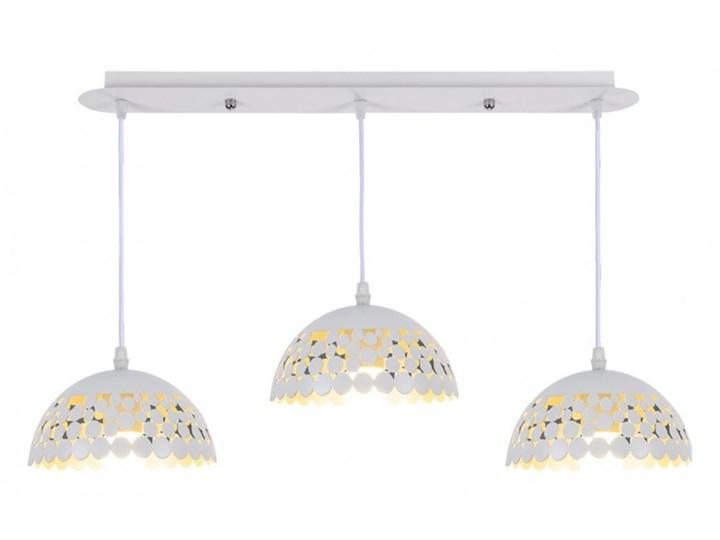 Lampa wisząca LISA WHITE 3xE27 ML6139 MiLAGRO ML6139 Metal Lampa inspirowana Lampa z kloszem Kolor Biały