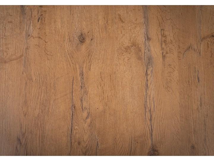 Rozkładany stół do jadalni 140x240x90 - FIORD - Dąb Szerokość 140 cm Szerokość 240 cm Styl Industrialny Metal Wysokość 90 cm Długość 140 cm  Długość 240 cm Drewno Pomieszczenie Stoły do kuchni