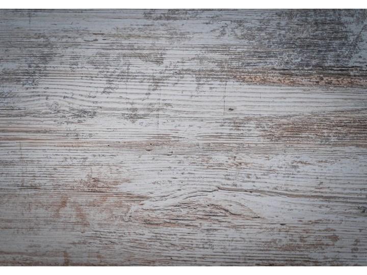 Rozkładany stół do salonu w stylu LOFTOWYM 160x260x90 - FIORD - Sosna bielona Wysokość 75 cm Długość 160 cm  Szerokość 260 cm Pomieszczenie Stoły do jadalni Metal Płyta MDF Styl Industrialny