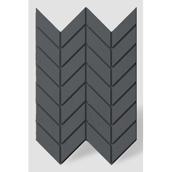 93,9x60x2,5 cm VT - PB46 (B15 czarny) JODEŁKA - Panel dekor 3D beton architektoniczny