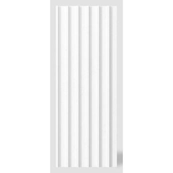 135x51,2x3 cm VT - PB40 (BS śnieżno biały) LAMEL - Panel dekor 3D beton architektoniczny