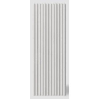 135x47,8x3 cm VT - PB38 (B0 biały) LAMEL - Panel dekor 3D beton architektoniczny