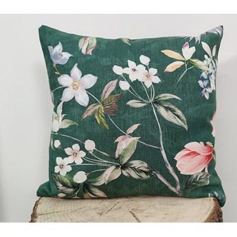 Poszewka dekoracyjna magnolia zielona F-FE51003