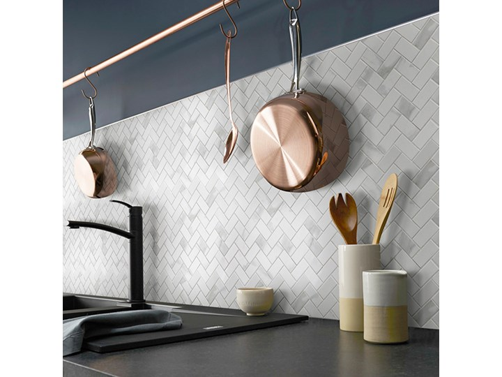 Mozaika Ultimate Marble GoodHome 30 x 30 cm calacatta Wzór Marmur Płytki podłogowe 30x30 cm Gres Płytki ścienne Powierzchnia Matowa