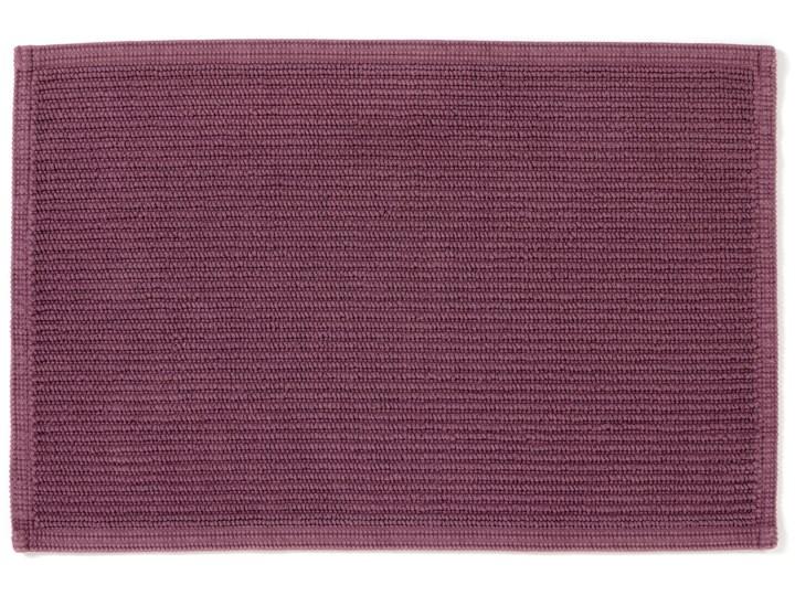 Dywanik łazienkowy Miekki 60x40 cm burgundowy Bawełna Prostokątny 40x60 cm Kategoria Dywaniki łazienkowe