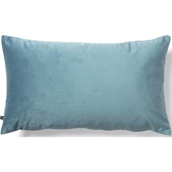Poszewka na poduszkę Lita 30 x 50 cm turkusowy aksamit