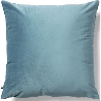 Poszewka na poduszkę Lita 45 x 45 cm turkusowy aksamit