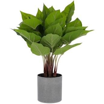 Sztuczna roslina Anthurium z doniczka cementowa 50 cm