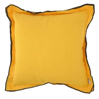 Poduszka lniana DUKA LIN 45x45 cm żółta len