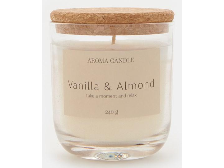 Sinsay - Świeca zapachowa Vanilla&Almond 240 g - Biały