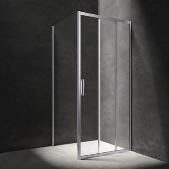 Chelsea kabina prysznicowa prostokątna 100x90 cm CH1090CRTR