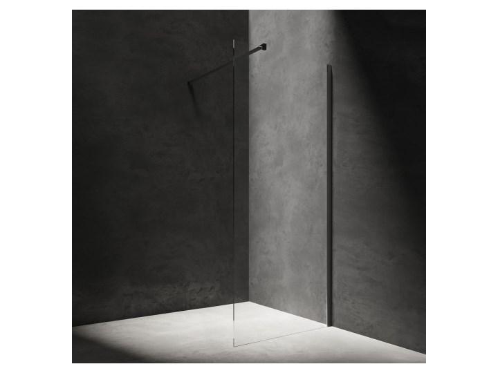 Kabina prysznicowa Marina, walk-in, 120cm, czarny/transp, DNR12XBLTR