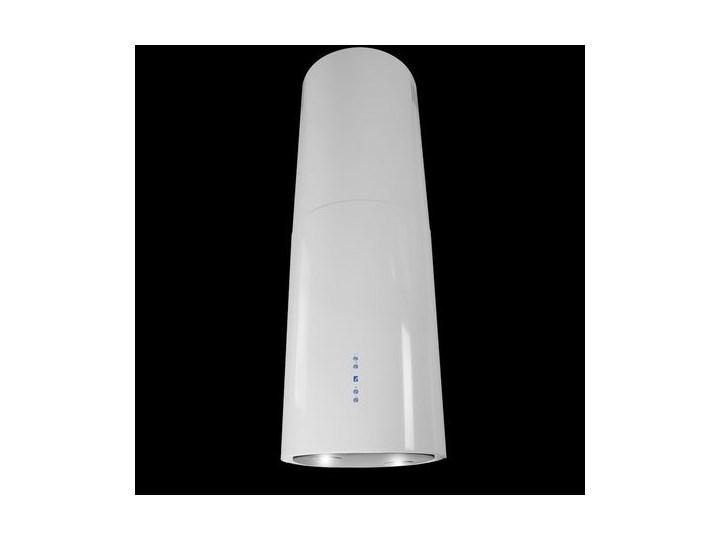 VDB PEARL White Szerokość 39 cm Okap wyspowy Poziom hałasu 66 dB