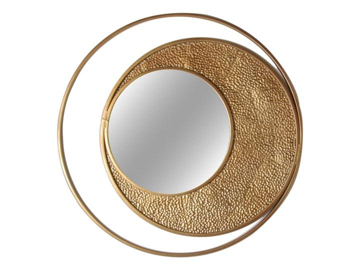 PROMO 2 w cenie 1 Złote okrągłe lustro Ø 80 cm TOY68-6727