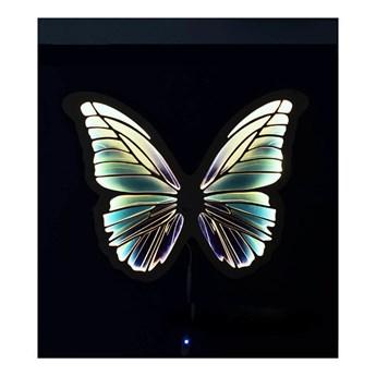 LAMPKA UNKY LAZUROWY MOTYL